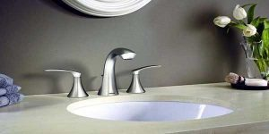Bathroom-faucet-installation-leaking-fix