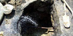 Repair leak on main water line2