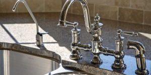 Replace kitchen faucet